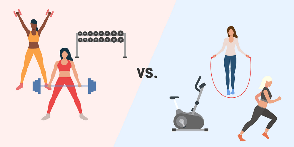 Does strength training or cardio work better for weight loss?