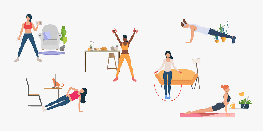 Home workout routines can be effective if you apply the right tips.