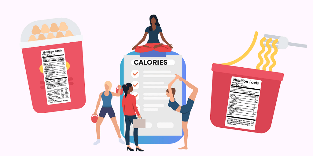 To understand the number of calories you eat in a day, start by looking at your food labels.