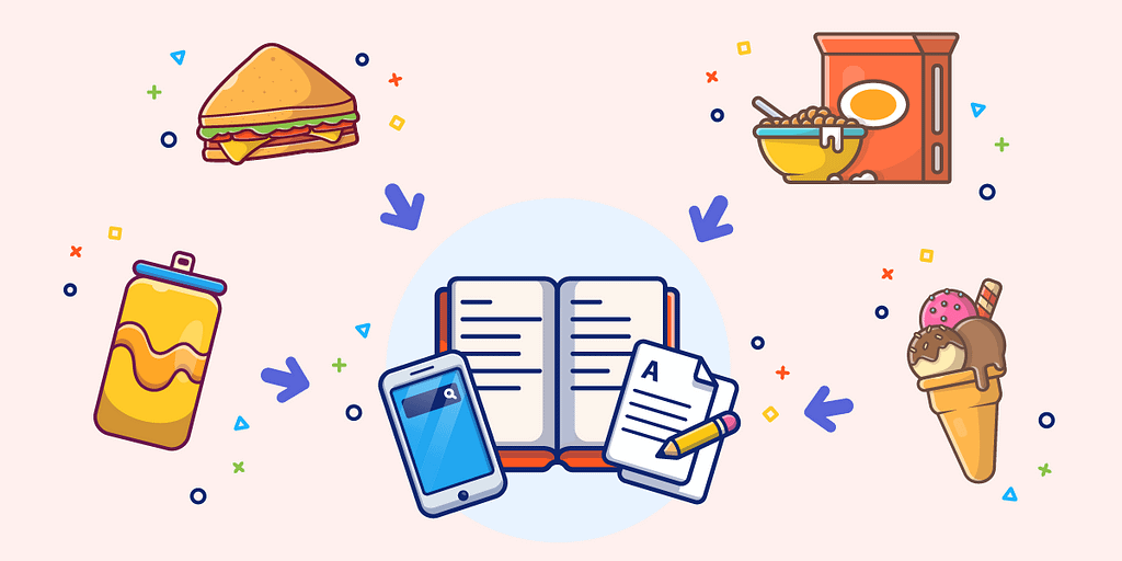 Use a food journal to track what you eat for an insight into your eating habits. This builds your awareness and helps you manage unhealthy snacking.