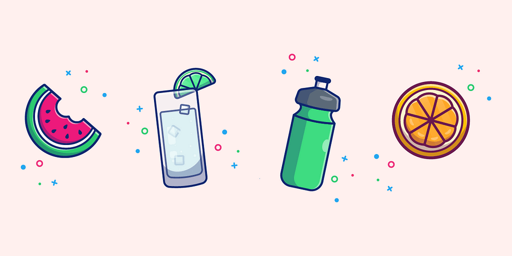 Keep yourself hydrated so dehydration does not result in you feeling hungry, leading to unhealthy snacking.