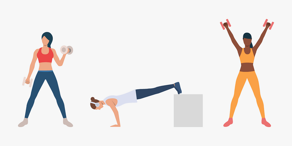 Work on your mind-muscle connection to maximize your home workout routine.