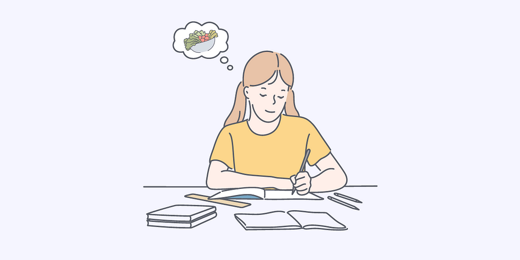 Keep a food journal to help you better understand your eating behaviors.