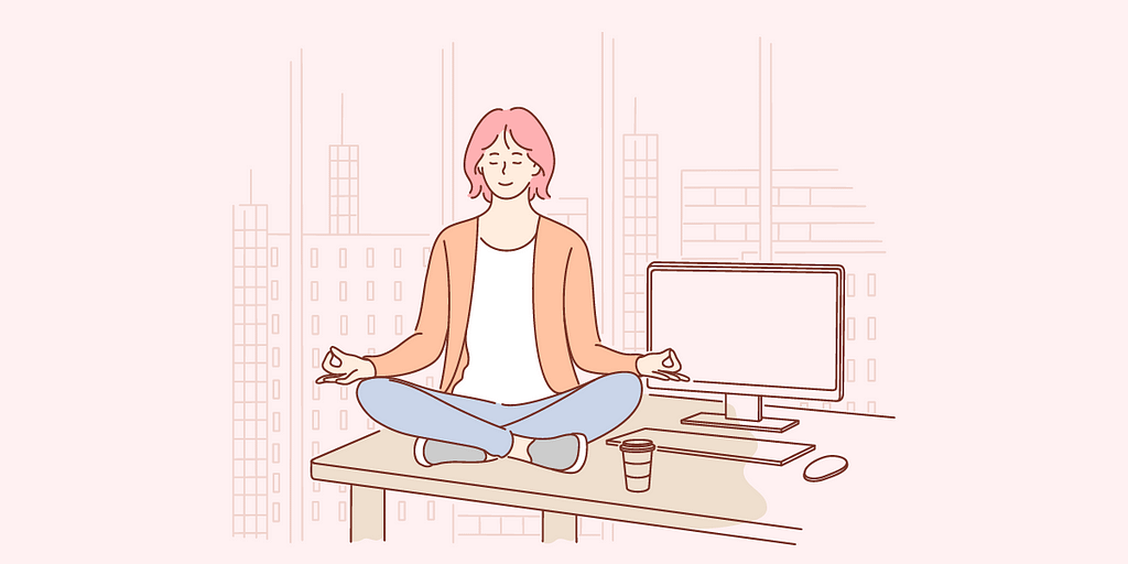 Meditation helps you find self-awareness by giving you the space and time to connect with your innermost thoughts and feelings.